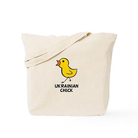 Ukrainian Chick Tote Bag