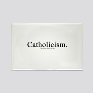 Catholicism. The original & Rectangle Magnet
