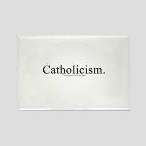 Catholicism. The original & Rectangle Magnet