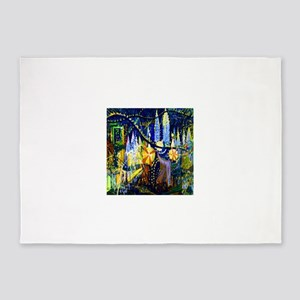 Joseph Stella Luna Park 5'x7'Area Rug