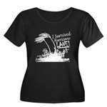 I Survived Hurricane Lane Plus Size T-Shirt