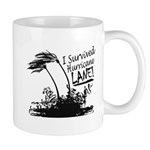 I Survived Hurricane Lane Mugs
