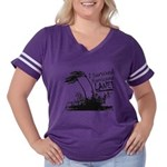 I Survived Hurricane Lane Women's Plus Size Footba