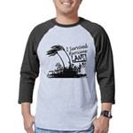I Survived Hurricane Lane Mens Baseball Tee