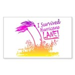 I Survived Hurricane Lane Sticker
