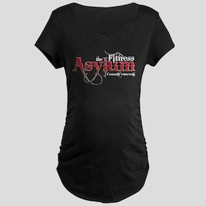 Fitness Asylum Logo Maternity T-Shirt