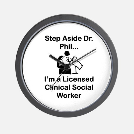 Dr. Phil Wall Clock