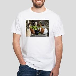 Guinea Pig Luncheon White T-Shirt