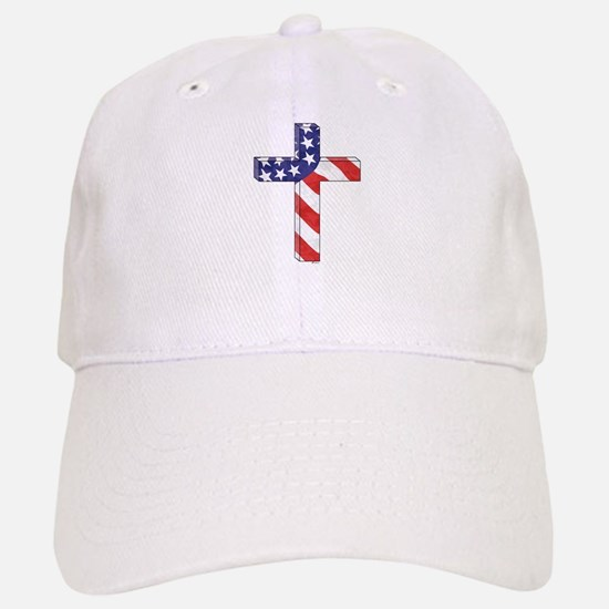 Freedom Cross Baseball Baseball Cap
