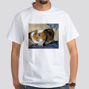 Pigs in a Bag White T-Shirt