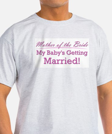 Cute Mother Of The Bride T Shirt