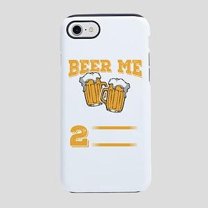 Wedding Anniversary Beer me iPhone 8/7 Tough Case