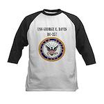 USS GEORGE E. DAVIS Kids Baseball Jersey