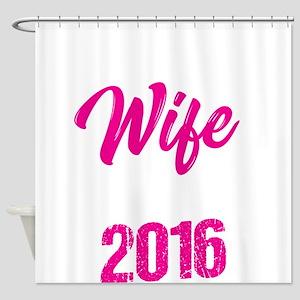 Second Wedding Anniversary Best Wif Shower Curtain