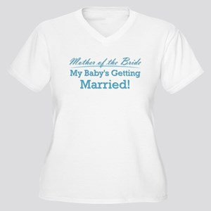 Funny Mother of the Bride Women's Plus Size V-Neck