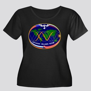 Expedition 15A Women's + Size Scoop Neck Dark Tee