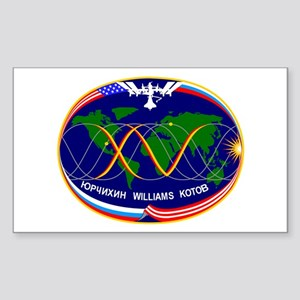 Expedition 15 A! Rectangle Sticker