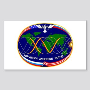 Expedition 15 C Rectangle Sticker
