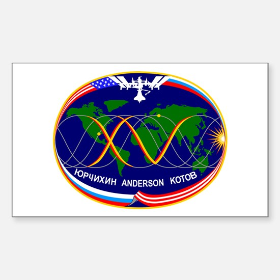Expedition 15 C Rectangle Decal