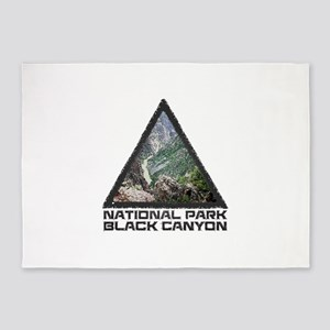 Black Canyon of the Gunnison - Colo 5'x7'Area Rug