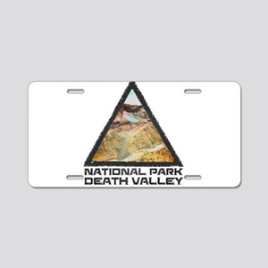 Death Valley - California, Aluminum License Plate