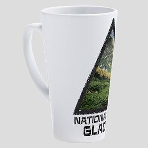 Glacier - Montana 17 oz Latte Mug