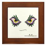 Enjoey Eyes - Framed Tile