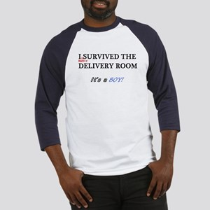 Barely survived the delivery, BOY, Baseball Jersey