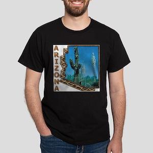 Arizona Saguaro Cactus Ash Grey T-Shirt