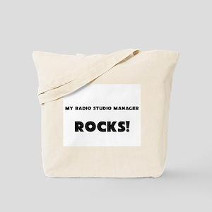 MY Radio Studio Manager ROCKS! Tote Bag