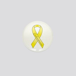 Endometriosis Ribbon Mini Button
