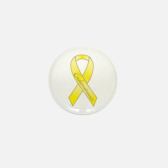 Endometriosis Ribbon Mini Button