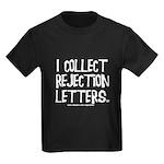 Rejection Letters Kids Dark T-Shirt