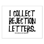 Rejection Letters Small Poster