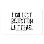 Rejection Letters Rectangle Sticker 50 pk)