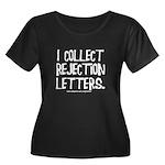 Rejection Letters Women's Plus Size Scoop Neck Dar