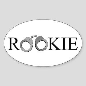 Rookie Oval Sticker