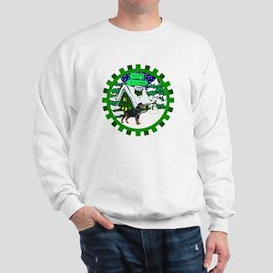 Country Rottweiler Christmas Sweatshirt