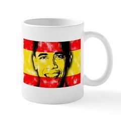Obama Spanish Flag Mug