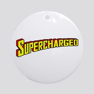 Supercharged Ornament (Round)