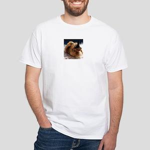 Halloween Guinea Pig White T-Shirt