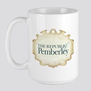 Jane Austen Republic of Pemberley Large Mug