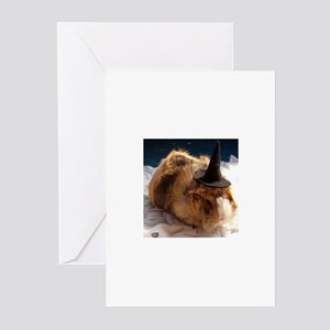 Halloween Guinea Pig Greeting Cards (Pk of 10)