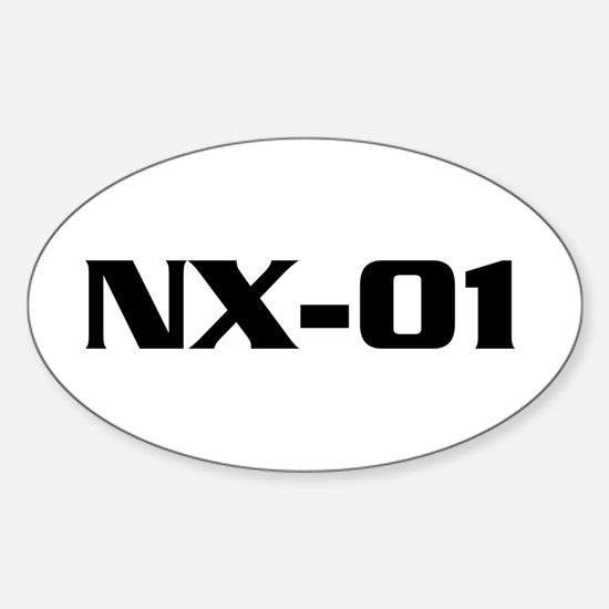 ENTERPRISE Ship Name Sticker (Oval)