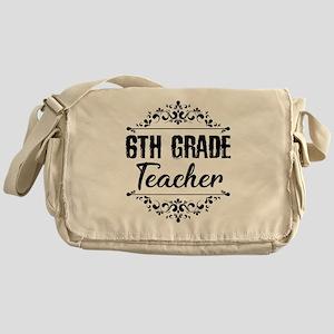 6th Grade Teacher Messenger Bag