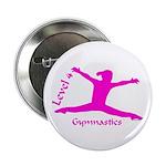 Gymnastics Button - Level 4