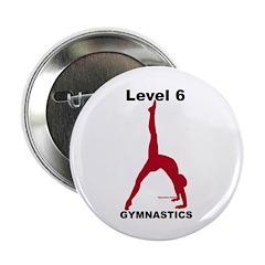 Gymnastics Button - Level 6