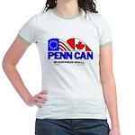 Penn Can original logo Jr. Ringer T-Shirt