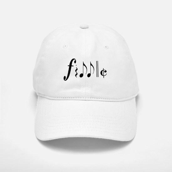 Great NEW fiddle design! Baseball Baseball Cap