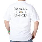 Biological Engineer Line (Back) Golf Shirt